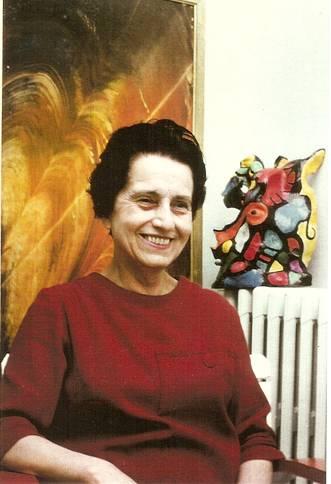 Irène, épouse de Max Bucaille